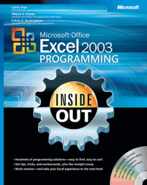 Free Download PDF Books, Microsoft Office Excel 2003 Programming Inside Out