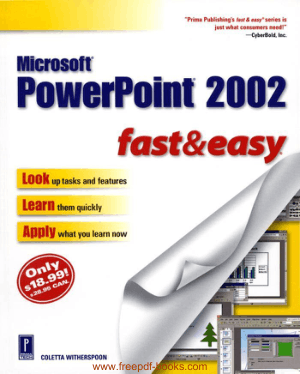 Microsoft Powerpoint 2002 Fast And Easy