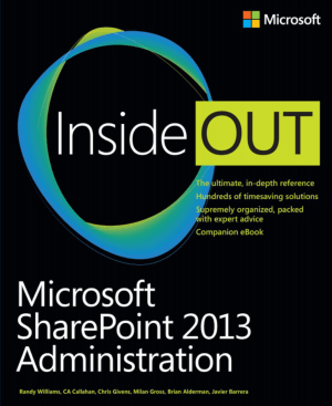 Free Download PDF Books, Microsoft Sharepoint 2013 Administration Inside Out