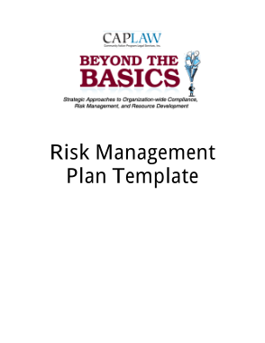 Free PDF Books, Fiscal Risk Management Plan Template