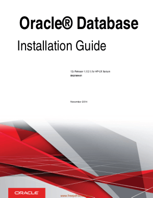 Free Download PDF Books, Oracle Database Installation Guide For Hp-Ux Itanium