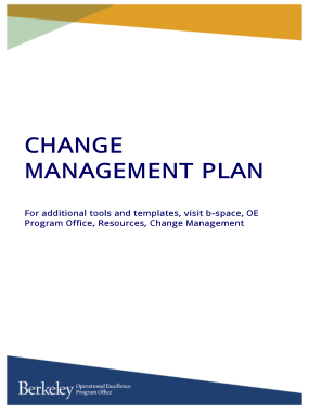 Free PDF Books, Project Change Management Plan Tools and Template