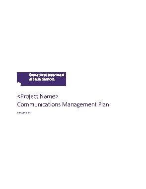 Free PDF Books, Project Communication Management Plan Sample Template
