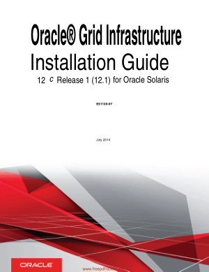 Free Download PDF Books, Oracle Grid Infrastructure Installation Guide For Oracle Solaris