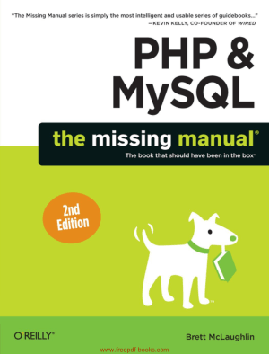 PHP And MySQL The Missing Manual 2nd Edition