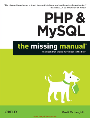 PHP And MySQL The Missing Manual