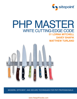 PHP Master Write Cutting-Edge Code