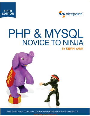 PHP MySQL Novice To Ninja 5th Edition