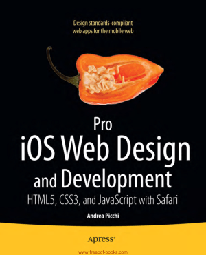 Free Download PDF Books, Pro iOS Web Design And Development