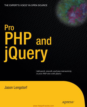 Free Download PDF Books, Pro PHP And jQuery