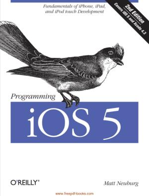 Programming iOS 5