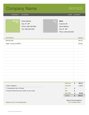 Free PDF Books, Business Letter Invoice Template