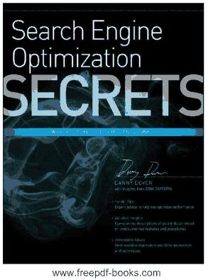 SEO Search Engine Optimization Secrets
