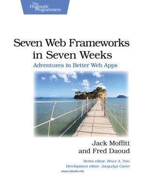 Free Download PDF Books, Seven Web Frameworks In Seven Weeks