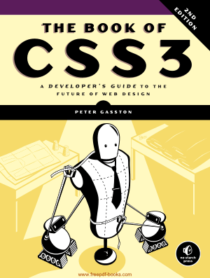 Free Download PDF Books, The Book Of CSS3 2nd Edition