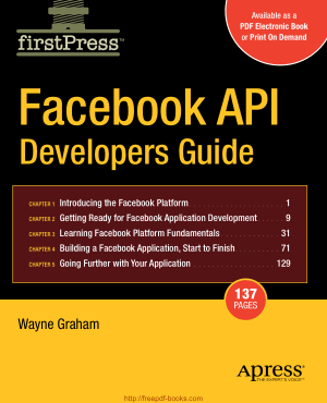 Facebook Api Developers Guide