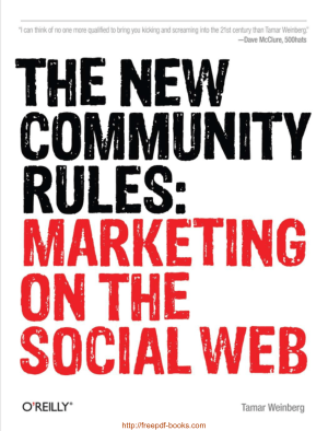 Free Download PDF Books, The New Community Rules