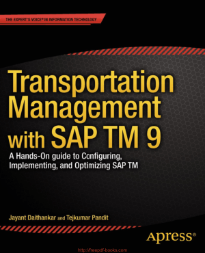 Free Download PDF Books, Transportation Management with SAP TM 9