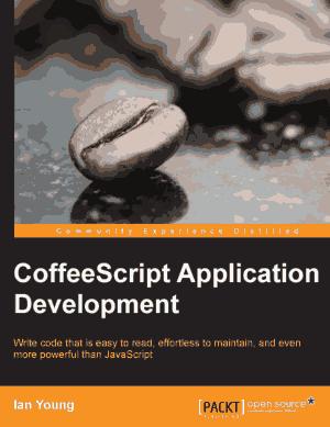 Coffeescript Application Development, Pdf Free Download