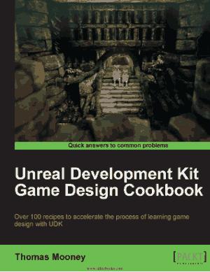 Free Download PDF Books, Unreal Development Kit Game Design Cookbook