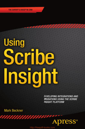 Using Scribe Insight