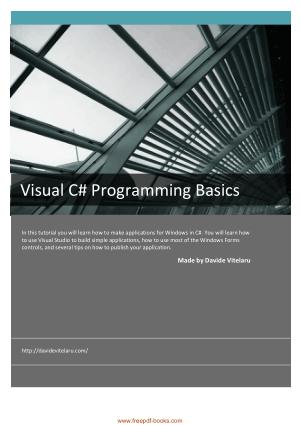 Free Download PDF Books, Visual C# Programming Basics