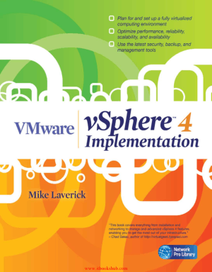 Free Download PDF Books, VMware vSphere 4 Implementation