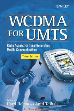 Free Download PDF Books, WCDMA For UMTS 3rd Edition Book