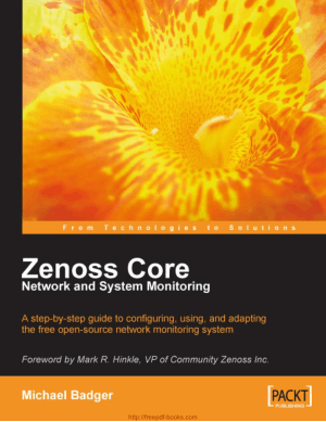 Free Download PDF Books, Zenoss Core Network and System Monitoring