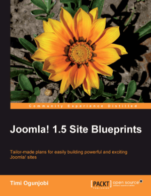 Joomla 1.5 Site Blueprints, Joomla Ecommerce Template Book