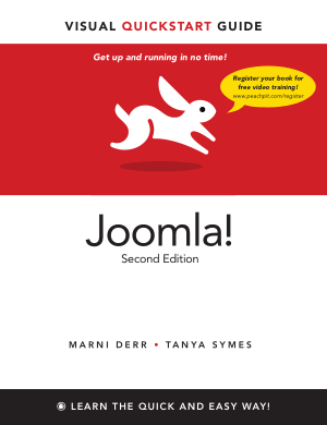 Joomla Second Edition, Joomla Ecommerce Template Book