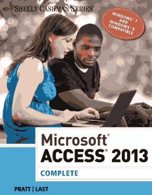 Microsoft Access 2013 Complete Book, MS Access Tutorial