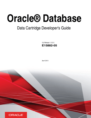 Oracle Database Data Cartridge Developers Guide