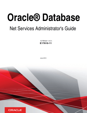 Oracle Database Net Services Administrators Guide