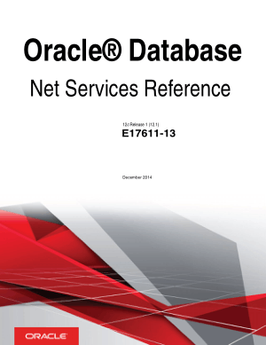 Free Download PDF Books, Oracle Database Net Services Reference