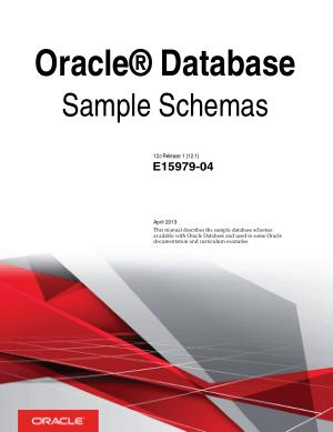 Free Download PDF Books, Oracle Database Sample Schemas