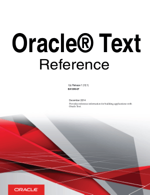 Free Download PDF Books, Oracle Text Reference
