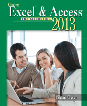 Using Microsoft Excel And Access 2013 For Accounting, MS Access Tutorial