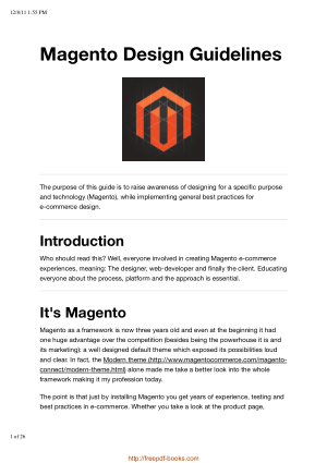 Magento Design Guidelines