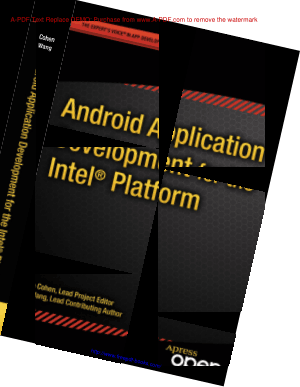 Free Download PDF Books, Android Application Development For The Intel Platform