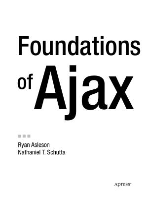 Free Download PDF Books, Foundations Of Ajax