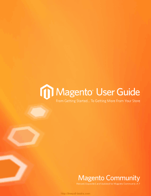 Magento User Guide Community