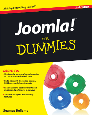 Joomla For Dummies 2nd Edition