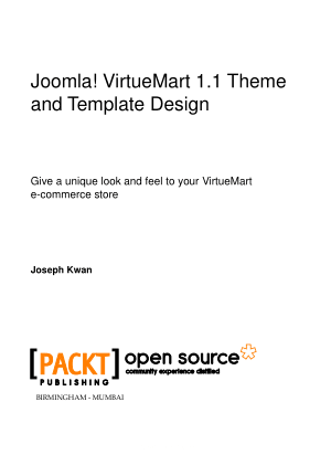 Joomla Virtuemart Theme And Template Design