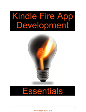 Free Download PDF Books, Kindle Fire App Development Essentials