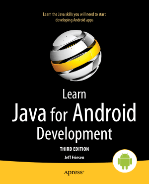 Learn Java For Android Development 3rd Edition, Learning Free Tutorial Book