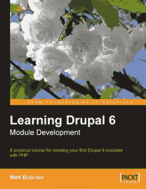 Free Download PDF Books, Learning Drupal 6 Module Development, Learning Free Tutorial Book