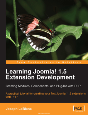 Learning Joomla Extension Development, Learning Free Tutorial Book
