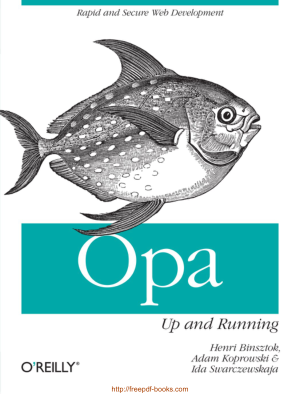 Free Download PDF Books, Opa Up And Running