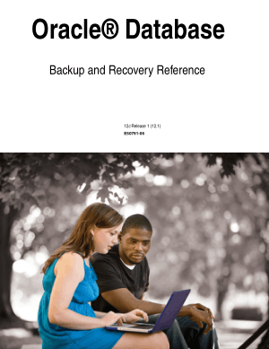 Free Download PDF Books, Oracle Database Backup And Recovery Reference